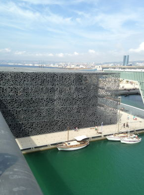 Mucem à Marseilles