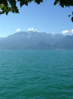 Lac Léman à Vevey