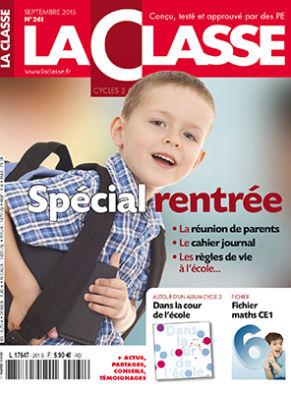 Premiererentree.ch est dans le magazine La Classe n°261